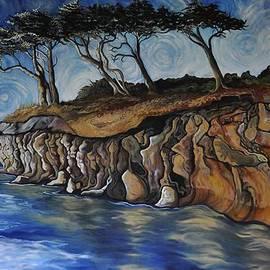 Cassandra Dolen - Saturna cliffs