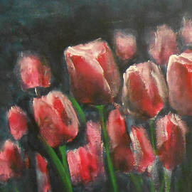 Jane See - Saucy Tulips 3