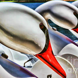 Diana Sainz - Save A Horse Ride a Swan Lake Eola by Diana Sainz