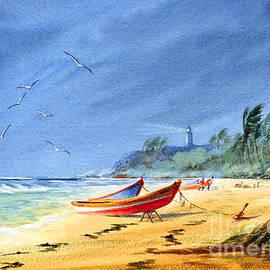 Bill Holkham - Saving The Fishing Boats - Maunabo Beach Puerto Rico