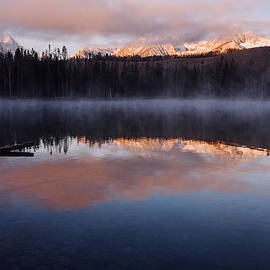 Vishwanath Bhat - Sawtooth Mountain Sunrise Stanley Idaho
