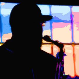 C H Apperson - Saxophone Silhouette