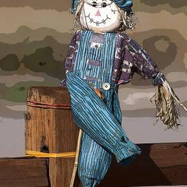Janice Rae Pariza - Scarecrow on a Fence