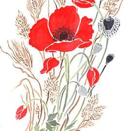 Carol Wisniewski - Scarlet Poppies