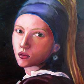 Marcel Quesnel - Scarlett Johansson in Vermeer