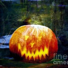 Annie Zeno - Scary Pumpkin Halloween Art