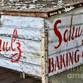 Paul Ward - Schulz Baking Co. Antique Box