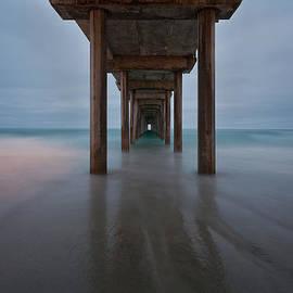 Peter Tellone - Scripps Pier Soft Blue