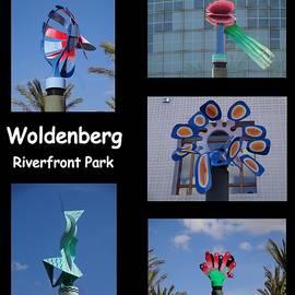 Kathy K McClellan - Sculptures In Woldenberg Riverfront Park