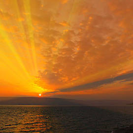 Stephen Stookey - Sea of Galilee Sunrise