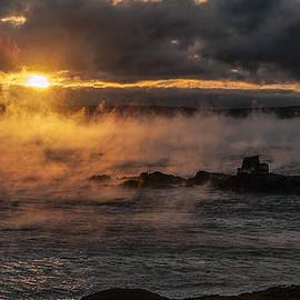 Marty Saccone - Sea Smoke Sunrise