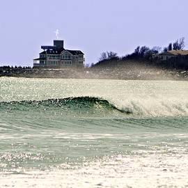 Barbara S Nickerson - Sea Spray In March