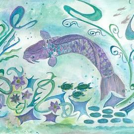 Veronica Rickard - Sea World -painting
