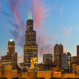 Sebastian Musial - Sears Tower Sunset