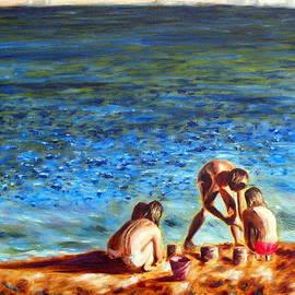 Uma Krishnamoorthy - Seascape series 3