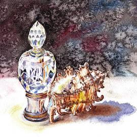 Irina Sztukowski - Seashell And Crystal Still Life