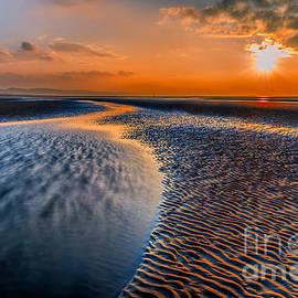 Adrian Evans - Seashore Sunset