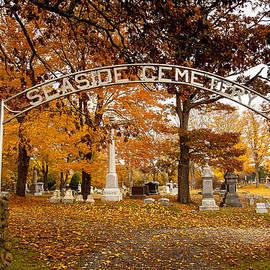 David Smith - Seaside Cemetery entrance