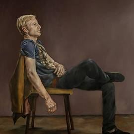 Jolante Hesse - Seated Man