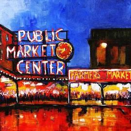 Marti Green - Seattle Public Market