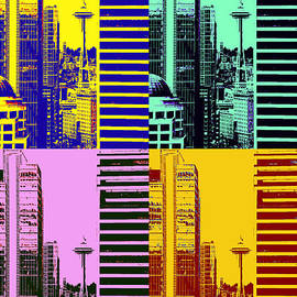 Brad Walters - Seattle Space Needle Tile