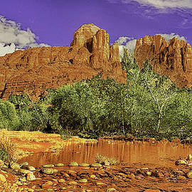 Bob and Nadine Johnston - Sedona Arizona Cathedral Rocks Oak Creek Crossing
