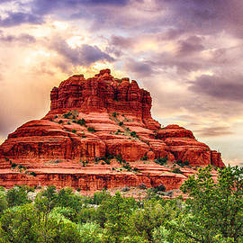 Bob and Nadine Johnston - Sedona Bell Rock Vortex in Spring