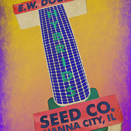 Stephen Stookey - Seed Company Sign Abstract