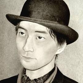 Hirokazu Tomimasu - Self Portrait