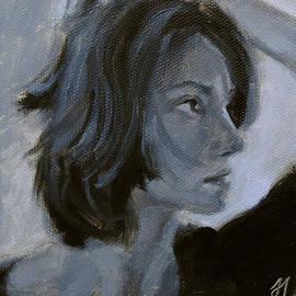 Jessica Johnson - Self Portrait in Black and White