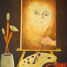 Pamela Allegretto - Self-Portrait In Progress
