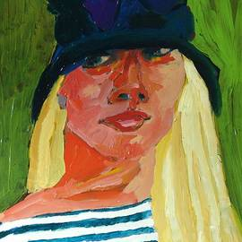 Janet Ashworth - Self-Portrait no . 1