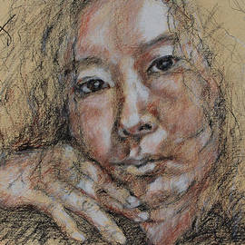 Becky Kim - Self Portrait of Becky Kim 2014 02