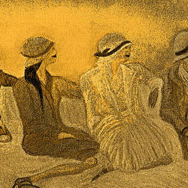 First Star Art  - Sepia Hats by jrr