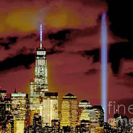 Regina Geoghan - NYC Tribute in Lights 2014