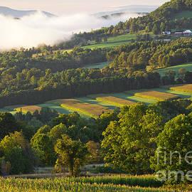 Alan L Graham - September Sunrise Landscape