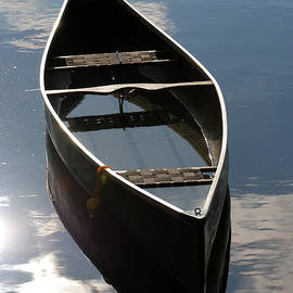 Renee Forth-Fukumoto - Serene Canoe with Sky