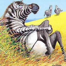 Rose Rigden - Sexy Zebra