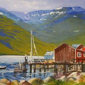 Barbara Ebeling - Seydisfjordur Wharf