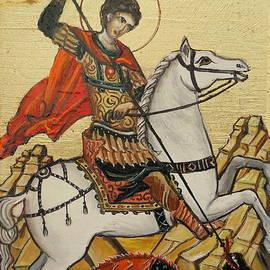Sorin Apostolescu - Sf. George and the dragon