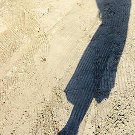 Jess Kraft - Shadow of Woman on White Sand