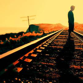 Nicole Swanger - Shadow on the Tracks