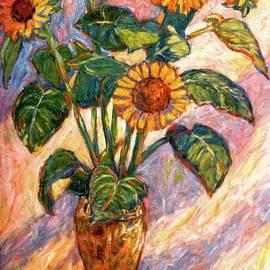 Kendall Kessler - Shadows on Sunflowers