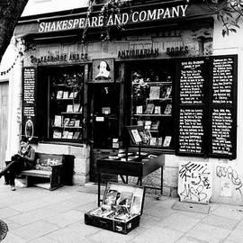Richard Rosenshein - Shakespeare and Company Boookstore in Paris France