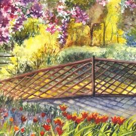 Carol Wisniewski - Shakespeare Garden Central Park New York City