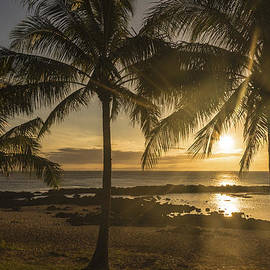 Brian Harig - Sharks Cove Sunset 2 - Oahu Hawaii