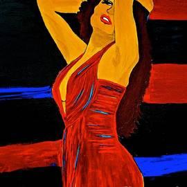Saundra Myles - She Wore A Red Dress 3 XL