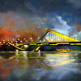 Corporate Art Task Force - Sheikh Zaed Bridge