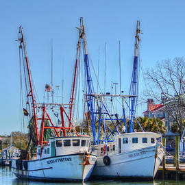 Kathy Baccari - Shem Creek Shrimp Boats