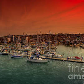 English Landscapes - Shepards Wharf IOW